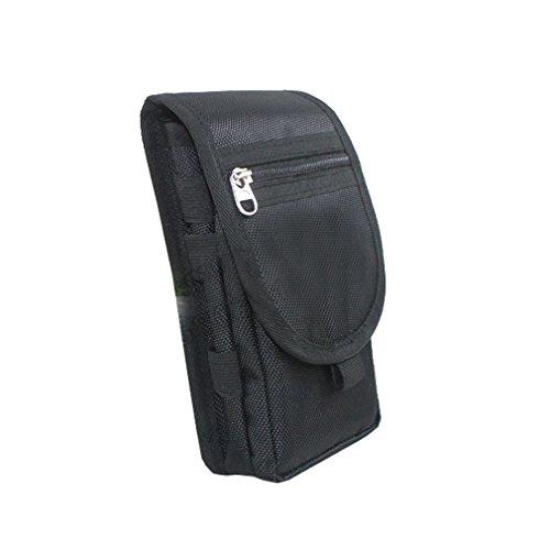 QEES Small Oxford Belt Waist Bag Waterproof Pen Pocket Outdoor Phone Holder GJB30