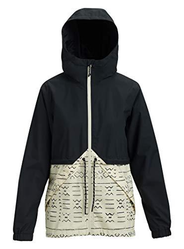 (Burton Women's Narraway Jacket, Medium, True Black/Canvas Bogolanfini)