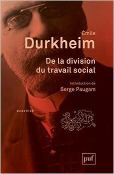 Book De la division du travail social