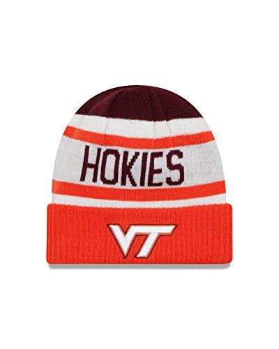 New Era NCAA Virginia Tech Hokies Biggest Fan 2.0 Cuff Knit Beanie, Orange, One Size -  New Era Cap Company, 80329627
