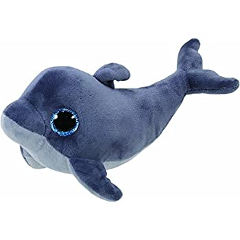 6b407cfb8a6 Amazon.com  Ty Beanie Babies - Echo the Dolphin with Waves Tags ...