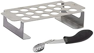 Steven Raichlen Best of Barbecue Stainless Chili Pepper Roasting Rack and Corer Set (B0028Y4FHK) | Amazon price tracker / tracking, Amazon price history charts, Amazon price watches, Amazon price drop alerts