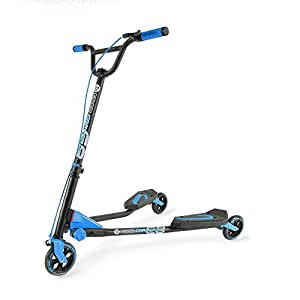 Amazon.com : Yvolution Y Fliker C3 Scooter, Blue, One Size : Flicker Scooter : Sports & Outdoors