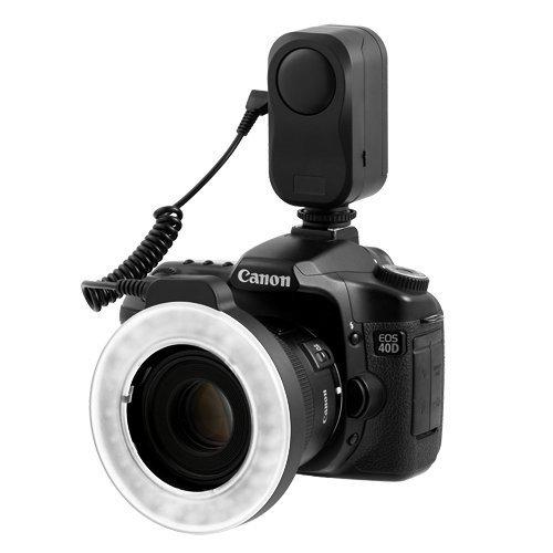 Chromo Inc CI55000230 Macro Ring 48 LED Power Light for Canon, Sony, Nikon, Sigma Lenses (Nikon Ring Light)