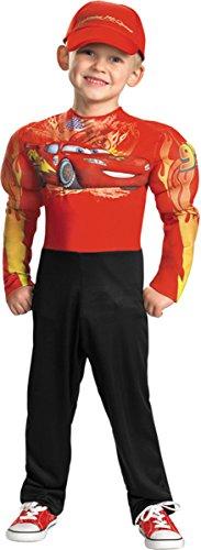 Costumes Toddler Mcqueen Lightning (Morris Costumes LIGHTNING MCQUEEN MUSCLE,)
