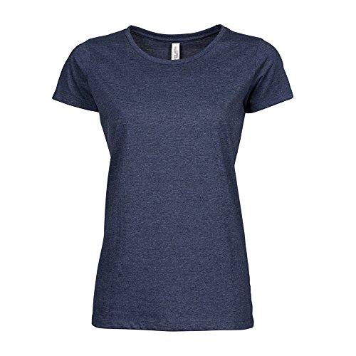 Tee Jays - Camiseta de manga corta modelo Urban para mujer Denim mezcla