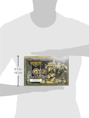 Privateer Press - Warmachine - Mercenary: Galleon Colossal Model Kit 5