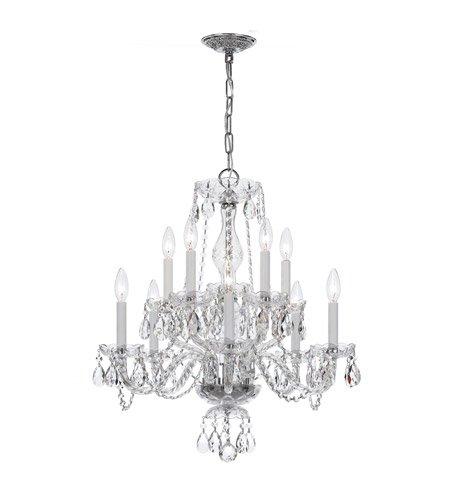 Amazon.com: 5 lámparas de araña con cromo pulido ...