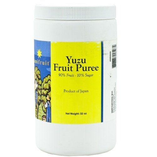 Yuzu Fruit Puree - 1 tub - 2 lbs