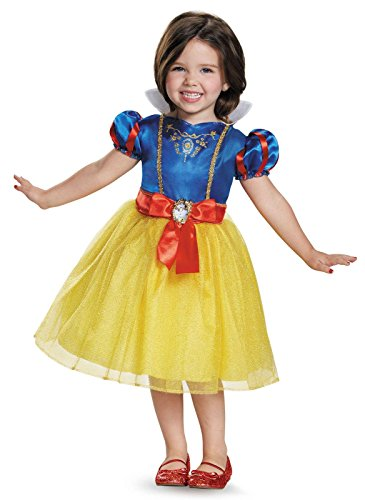 White Plus Costume Snow (Snow White Toddler Classic Costume, Medium)