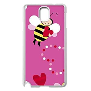 Samsung Galaxy Note 3 Cell Phone Case White Honeybee H5K5IC