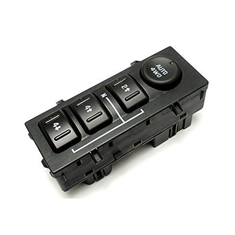GOSENSORS 4-Wheel Drive Transfer Case Selector Dash Switch For Chevrolet Avalanche Silverado Suburban Tahoe / GMC Yukon Yukon XL Sierra / Cadillac - Four Wheel Drive Transfer Case