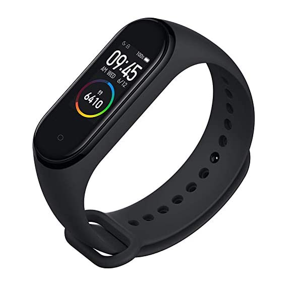 Banlok Mi 8 Compatible Smart Fitness Band 3 Activity Tracker   Fitband with OLED Heart Rate Monitor, Health Activity