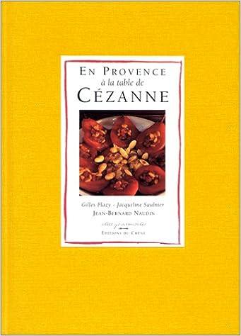 Livre gratuits En Provence à la table de Cézanne pdf