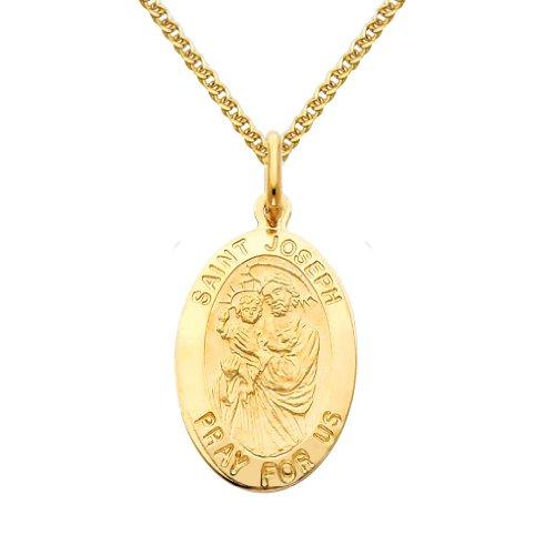 st joseph medal gold - 4