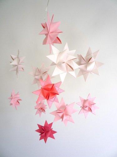 Star Craft Ursa Minor Star Mobile, Soft Pinks, Baby & Kids Zone