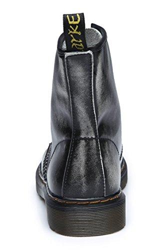 uBeauty Stivaletti da Classici Donna Scarpe Stivali Stivali Velluto Martin Grigio Moda Stivali Donna RxqXrwRZ