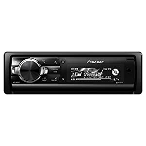 Pioneer DEH-80PRS CD Receiver with 3-Way Active Crossover Network, Auto EQ, and Auto Time Alignment
