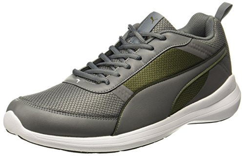 Puma Unisex Zen Evo Idp Olive Night-Quiet Shade Running Shoes - 7 UK/India (40.5 EU)(36614303)