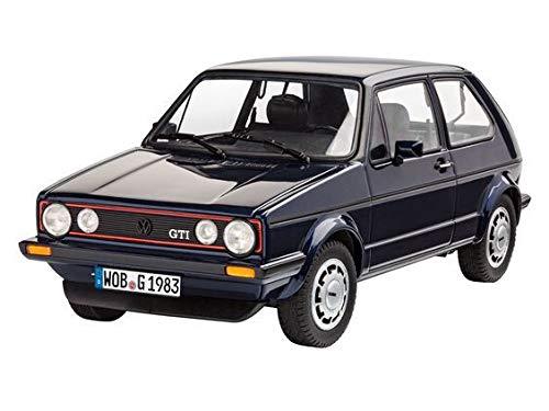 Revell Model Kit - VW Golf 1 GTI Pirelli Car 35 Years - 1:24 Scale 05694 ()