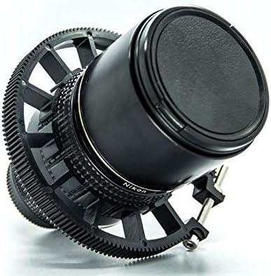 Cinematics DSLR Lens Follow Focus Gear Ring Belt 70-80mm for DSLR Lens Pro Mod 0.8 Black