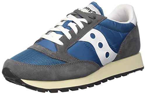 Saucony Jazz Original Vintage, Men's Trainers, Gray (Cas/Tea 20), 8 UK (42.5 EU) (Best Tea Brands Uk)