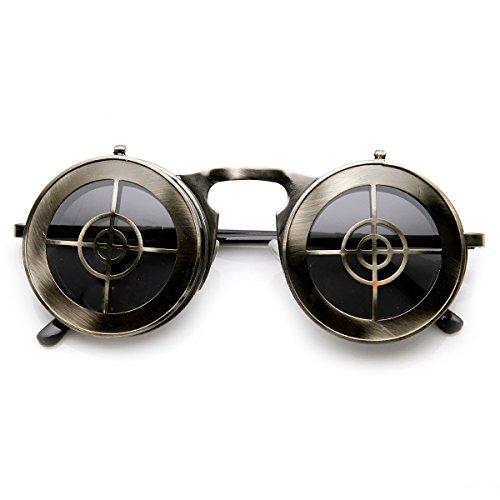 zerouv-full-metal-flip-up-bullseye-target-crosshair-steampunk-sunglasses-gunmetal