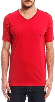 Camiseta ,com decote em V, Forum, Masculino