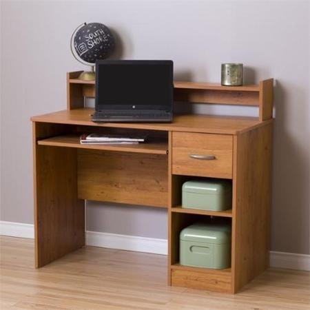 (South Shore Smart Basics Small Desk, Country Pine)