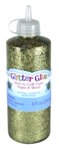 Sulyn 8 oz. Glitter Glue - Gold