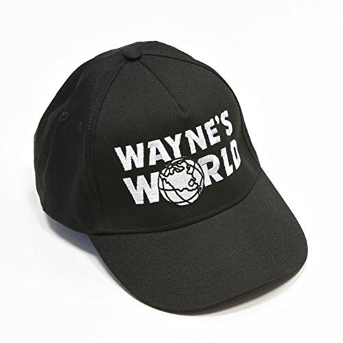 Wayne's World Baseball Cap Black Color