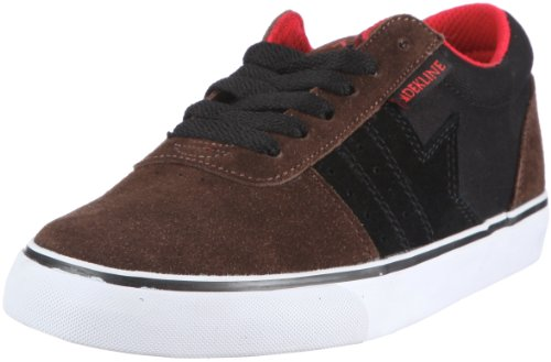 Dekline Archer 602183 - Zapatillas de skate de ante unisex Marrón (Braun (Brown/Black/Red))