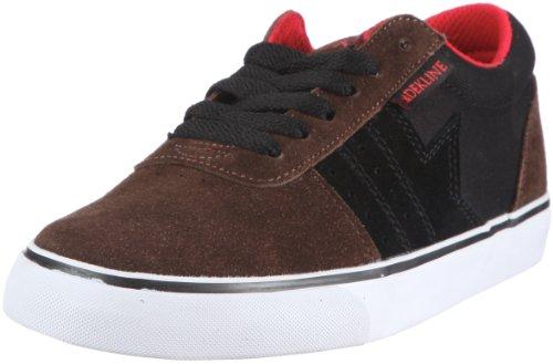 Dekline Archer Skateboard Shoes Unisex-Adult Braun (Brown/Black/Red) EKjzNa