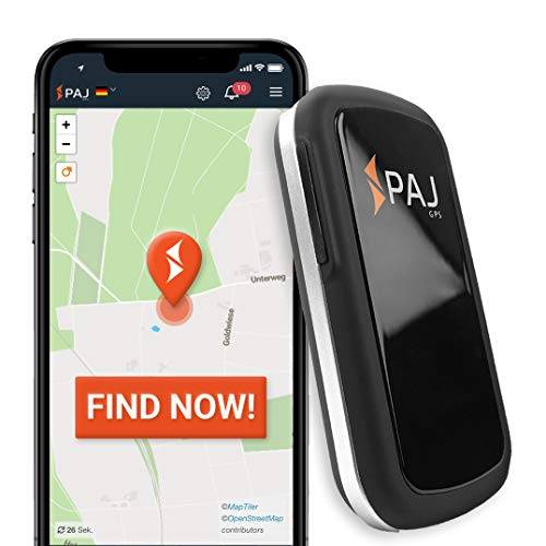 PAJ GPS Allround Finder GPS tracker – Personal GPS tracker devices for Real-time positioning- Antitheft protection…