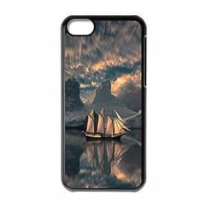 [Tony-Wilson Phone Case] For Iphone 5c -IKAI0448134-Tall Ship