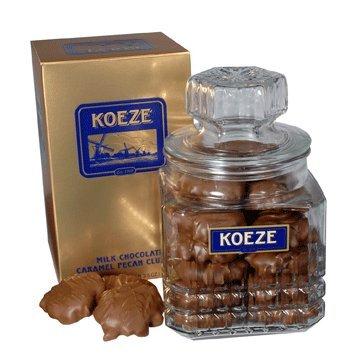 Koeze's Milk Chocolate Pecan Turtles 19.5 oz. Decanter (Koeze Chocolate)