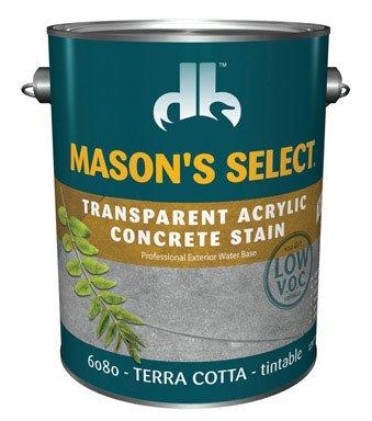 Mason'S Select Transparent Concrete Stain Terra Cotta 1 Gl