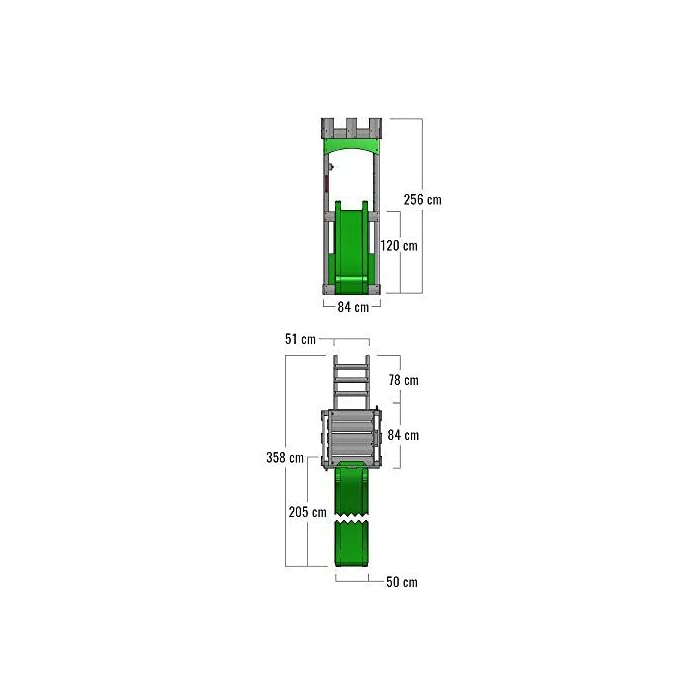 41NW5tbS0jL Parque infantil con columpio con aspecto caballeresco Madera maciza impregnada a presión - Poste 7x7cm - Instrucciones de montaje detalladas Varias opciones de montaje - Made in Germany - Todos los tornillos necesarios