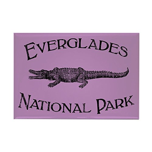 - CafePress Everglades National Park (Crocodile) Rectangle Mag Rectangle Magnet, 2