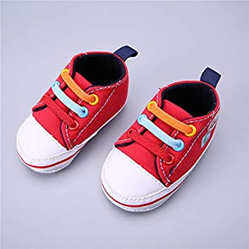 Newborn Canvas Classic Sports Sneakers Baby Boys Girls First Walkers Spring Shoes  Infant Toddler Soft Sole f74149719e79