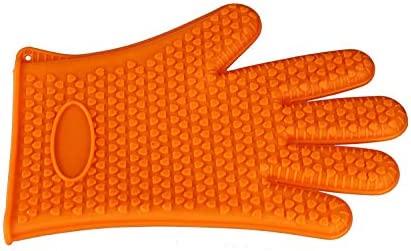 Oven Glove Guantes de Goma de Silicona Manoplas de Horno Manoplas ...