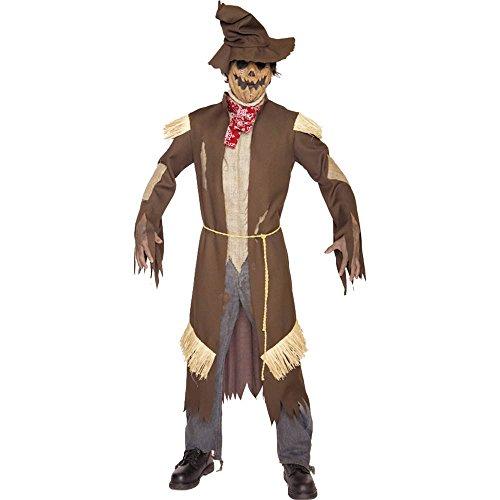 Scarecrow Mens Costume (Deathcrow Adult Costume)