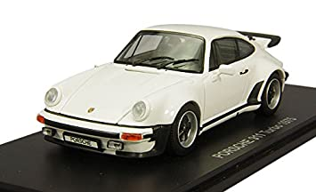 Kyosho 1/43 original de Porsche 911 Turbo blanco