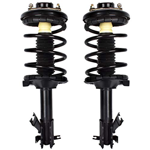FAERSI Front Pair Complete Shocks Struts Assembly for 2000 2001 Nissan Maxima 2000 2001 Infiniti I30 Replaces # 171418 171419