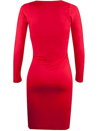 titoon® - Robe de grossesse - Winter Flowers - Rouge, fleurs, strass - Avant-Pendant-Après grossesse