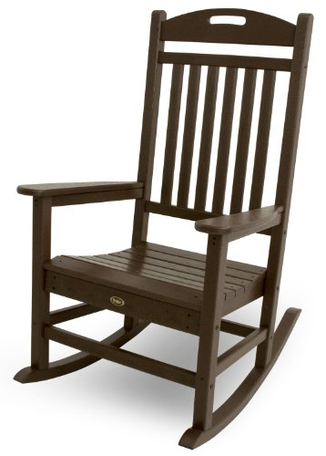 (Trex Outdoor Furniture Yacht Club Rocker Chair, Vintage Lantern)