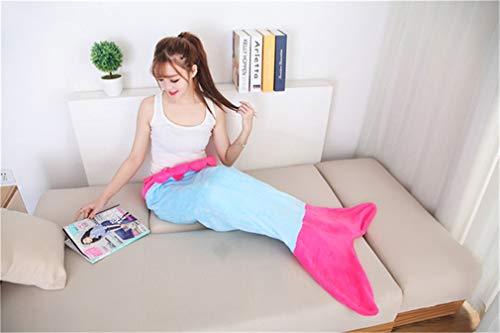 RAN SHAOBA Super Soft Cuddly Sleeping Bags Blanket Tail Grea