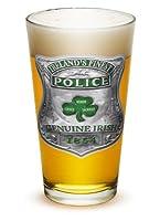 Pint Glasses - Police Officer Gifts for Men or Women - Law Enforcement Beer Glassware - Garda Irelands Finest Beer Glass with Logo