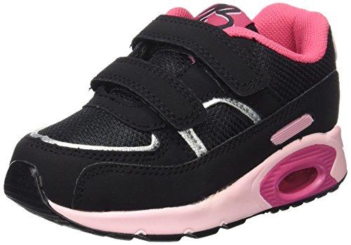 BEPPI 2152571, Zapatillas de Deporte Para Niños Negro (Preto)