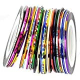 Yesurprise Nail Stripes Striping Tapes By Cheeky- Wonderful Nail Decoration Set Kit of 30